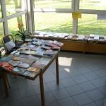 Prodej knih na konferenci CB