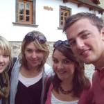 Grace, Jenny, Claire, Andy ze S. Irska