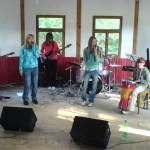 Hudební vystoupení mládeže z Hlinska