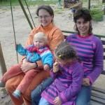 Maminka se svými dětmi