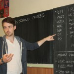 Steven učí angličtinu