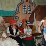 Vesničané s kněžnou